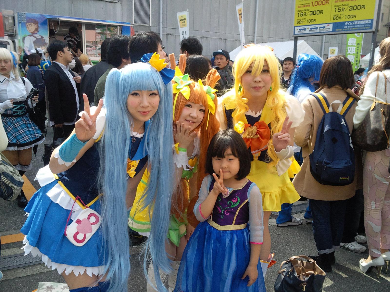 ストフェスに行こう!日本橋ストリートフェスタ2015 コスプレイヤーたちの狂乱