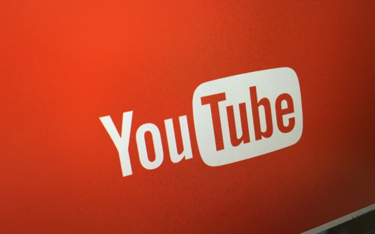Youtube screen