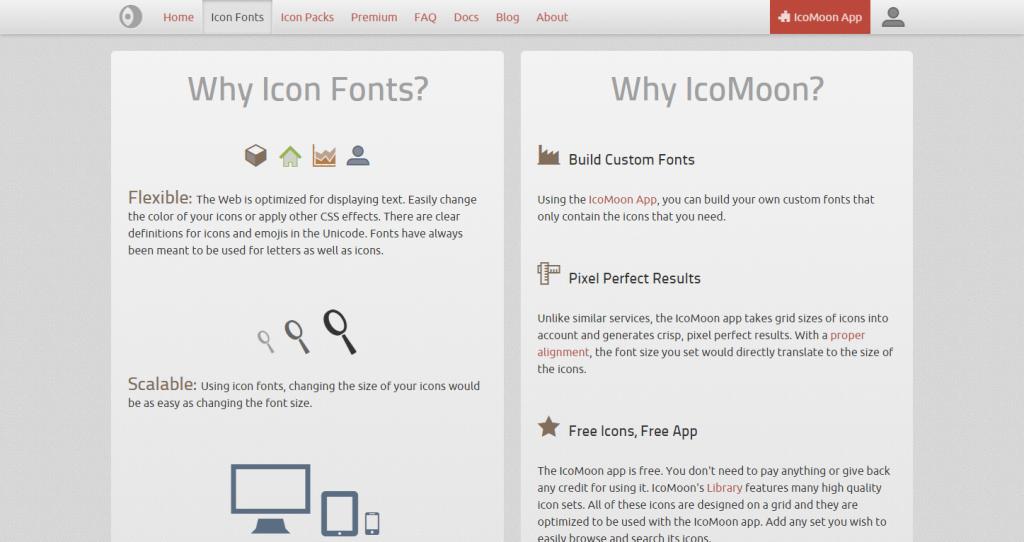 ❍ Icon Font