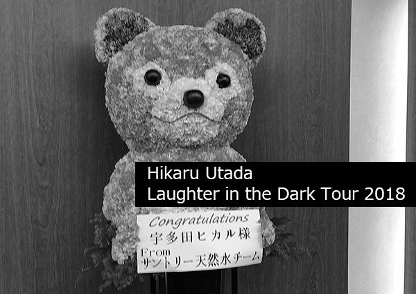 今年の運気はこの日のためにとってあったのか? ? ?「 Hikaru Utada Laughter in the Dark Tour 2018」に参戦。
