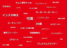 2017『ユーキャン新語流行語大賞』の大賞候補30語から見る言葉のインパクト